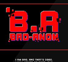 Bad-Anon  by Liam  Camp