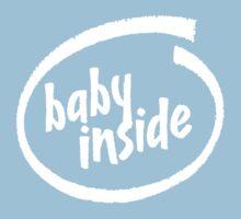 Baby Inside Kids Tee