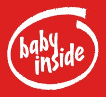 Baby Inside One Piece - Short Sleeve