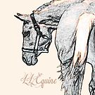 LL Equine iPhone Case by llequine