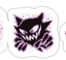 Gastly evolution  Sticker