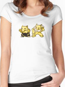 Drowzee evolution  Women's Fitted Scoop T-Shirt