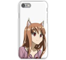Holo The Wise Wolf - Spice and Wolf iPhone Case/Skin