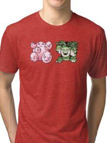 Exeggcute evolution  Tri-blend T-Shirt