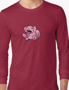 Lickitung evolution  Long Sleeve T-Shirt