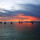Sunset at Store Bay, Tobago by Wayne Gerard Trotman