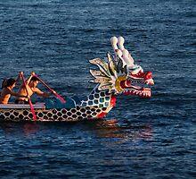 Dragon boat race by Alex Preiss