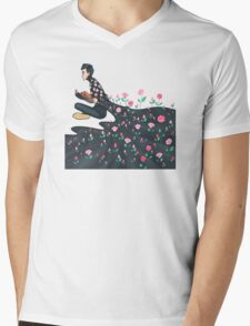 Blooming Joseph Mens V-Neck T-Shirt