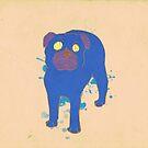Pug by Alice Bouchardon