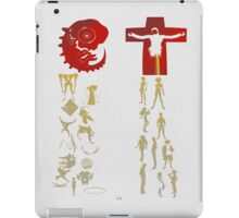 Humans come from Lilith, Angels come from Adam  iPad Case/Skin