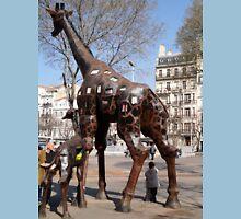 Giraffe Sculptures, Marseilles, France 2012 Unisex T-Shirt