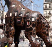 Giraffe Sculptures, Marseilles, France 2012 Sticker