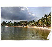 Coconut Bay, Tobago Poster