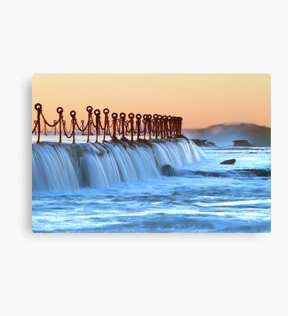 Newcastle baths Canvas Print