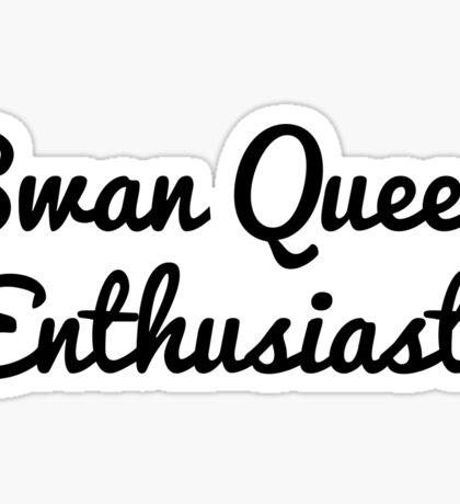 Swan Queen Enthusiast Sticker