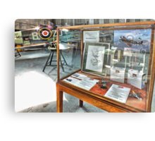 MH434 And The OFMC Model Case Hangar 2 Duxford ! Metal Print