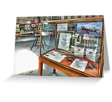 MH434 And The OFMC Model Case Hangar 2 Duxford ! Greeting Card