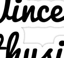 Wincest Enthusiast Sticker