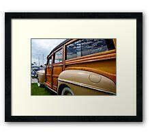California Woodie 1 Framed Print