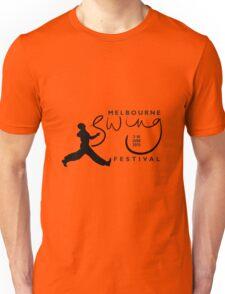 Melbourne Swing Festival 2013 official tee Unisex T-Shirt