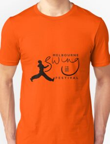 Melbourne Swing Festival 2013 official tee T-Shirt