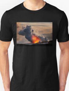 Sunset at Kalapana 3 Unisex T-Shirt