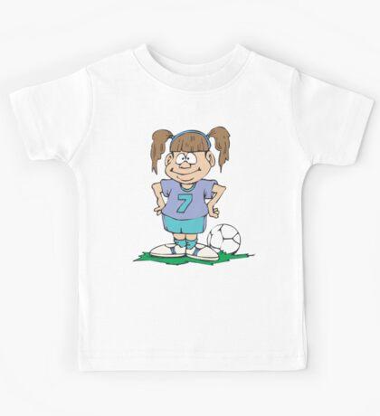 Girl's Soccer Kids Tee