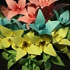 Origami Flowers #1-4 by jimmyzoo