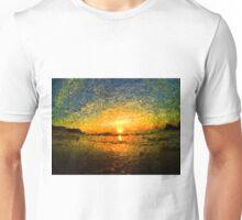 sunrise impressionism Unisex T-Shirt