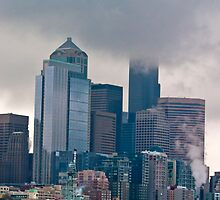 Seattle Cityscape by Derek Lowe
