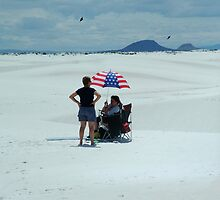White Sands Missile Range by Derek Lowe