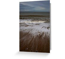 Raw Tide Greeting Card