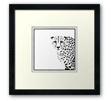 Cheetah Framed Print