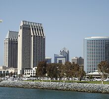 """Cityscape of Beautiful, Sunny, San Diego, """"The Tool Box!"""" by seeingred13"""