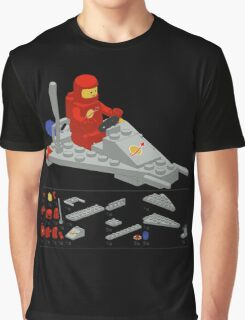 Lego Space Scooter (vector art) Graphic T-Shirt
