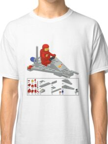 Lego Space Scooter (vector art) Classic T-Shirt