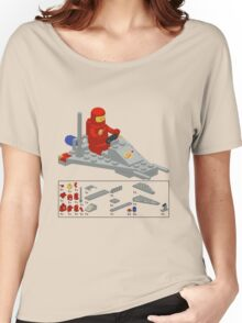 Lego Space Scooter (vector art) Women's Relaxed Fit T-Shirt