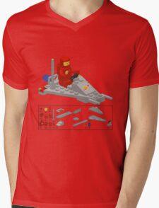 Lego Space Scooter (vector art) Mens V-Neck T-Shirt