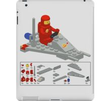 Lego Space Scooter (vector art) iPad Case/Skin