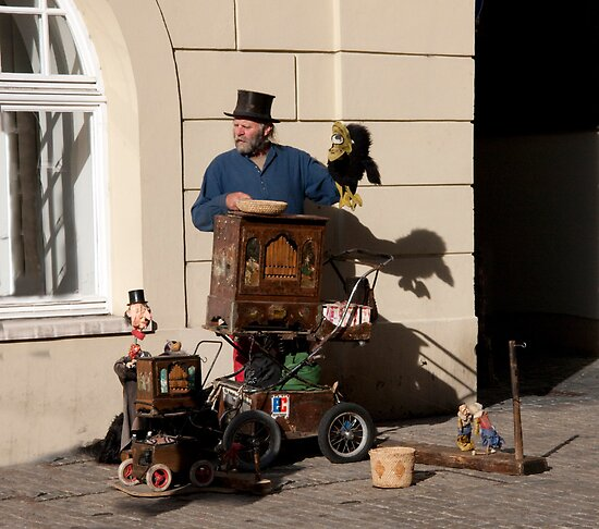 Regensberg Busker by phil decocco