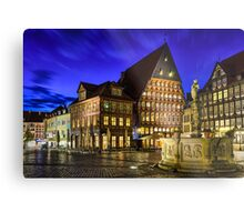 Old Town in Germany Metal Print