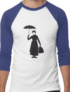 Mary poppins Men's Baseball ¾ T-Shirt