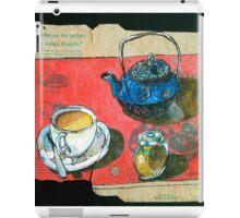 A pot of Earl Grey iPad Case/Skin