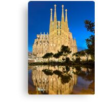Sagrada Familia in Barcelona Canvas Print