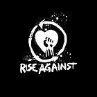 Rise Against iphone case by cheezrulz84