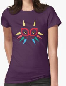 Majora's Mask Tribal Womens Fitted T-Shirt