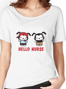 Hello Nurse Women's Relaxed Fit T-Shirt