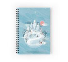 Winter scenery  Spiral Notebook