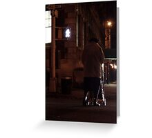 Greenwich Village Walk Greeting Card