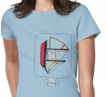 Ship in A bottle Tee Shirt Womens Fitted T-Shirt